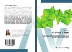 Bookcover of 3D-Druck & Recht