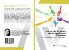 Buchcover von Macht, Ideologie und Manipulation beim Übersetzen