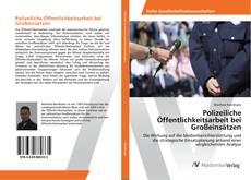 Buchcover von Polizeiliche Öffentlichkeitsarbeit bei Großeinsätzen