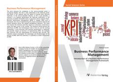 Copertina di Business Performance Management