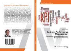 Business Performance Management的封面