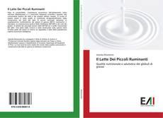 Bookcover of Il Latte Dei Piccoli Ruminanti