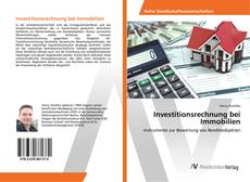 Capa do livro de Investitionsrechnung bei Immobilien