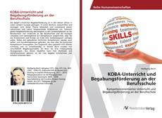 Обложка KOBA-Unterricht und Begabungsförderung an der Berufsschule