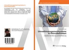 Bookcover of Umweltmanagementsysteme in Kleinstbetrieben