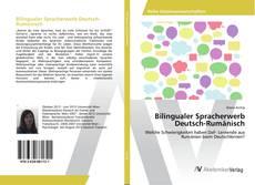 Обложка Bilingualer Spracherwerb Deutsch-Rumänisch