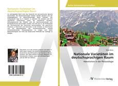 Buchcover von Nationale Varietäten im deutschsprachigen Raum
