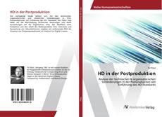 Buchcover von HD in der Postproduktion