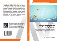 Bookcover of Change Management in Österreich