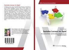 Buchcover von Soziales Lernen im Spiel