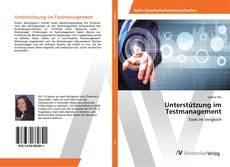 Buchcover von Unterstützung im Testmanagement
