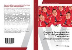 Buchcover von Corporate Communication im Vertrieb. Analyse eines Praxisproblems