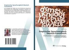 Bookcover of Empirischer Sprachvergleich Deutsch-Französisch