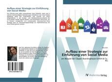 Portada del libro de Aufbau einer Strategie zur Einführung von Social Media