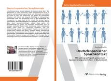 Bookcover of Deutsch-spanischer Sprachkontakt