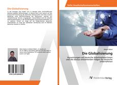 Capa do livro de Die Globalisierung