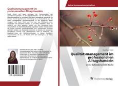 Bookcover of Qualitätsmanagement im professionellen Alltagshandeln