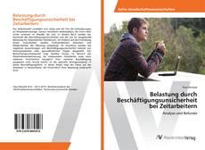 Borítókép a  Belastung durch Beschäftigungsunsicherheit bei Zeitarbeitern - hoz