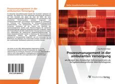 Buchcover von Prozessmanagement in der ambulanten Versorgung