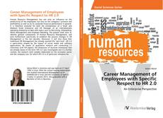 Bookcover of Career Management of Employees with Specific Respect to HR 2.0