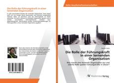 Buchcover von Die Rolle der Führungskraft in einer lernenden Organisation