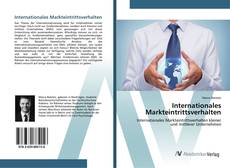 Bookcover of Internationales Markteintrittsverhalten