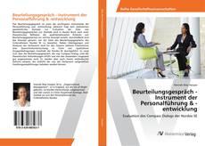 Bookcover of Beurteilungsgespräch - Instrument der Personalführung & -entwicklung