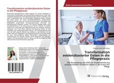 Capa do livro de Transformation evidenzbasierter Daten in die Pflegepraxis