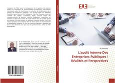 Couverture de L'audit Interne Des Entreprises Publiques / Réalités et Perspectives