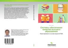Системы обеспечения качества высшего образования的封面