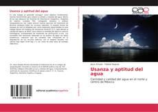 Buchcover von Usanza y aptitud del agua