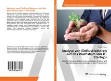 Buchcover von Analyse von Einflussfaktoren auf das Wachstum von IT-Startups