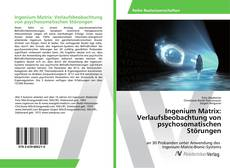 Buchcover von Ingenium Matrix: Verlaufsbeobachtung von psychosomatischen Störungen