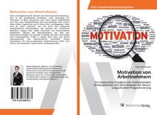 Обложка Motivation von Arbeitnehmern