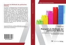 Planspiel als Methode der politischen Bildung kitap kapağı