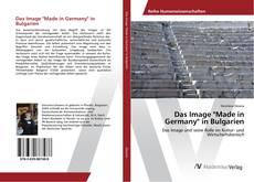 """Portada del libro de Das Image """"Made in Germany"""" in Bulgarien"""