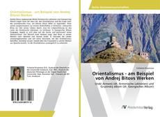 Bookcover of Orientalismus - am Beispiel von Andrej Bitovs Werken