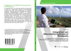 Borítókép a  Integration von Akkumulatorsystemen in Windparks - hoz