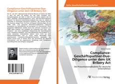 Обложка Compliance-Geschäftspartner-Due-Diligence unter dem UK Bribery Act