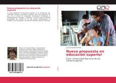 Обложка Nueva propuesta en educación superior