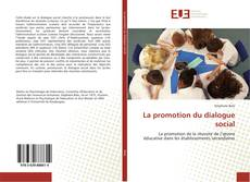Couverture de La promotion du dialogue social
