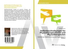 Buchcover von Stellenbeschreibungen für Physiotherapeutinnen und Physiotherapeuten