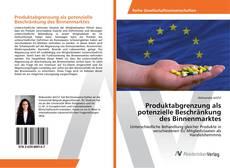 Capa do livro de Produktabgrenzung als potenzielle Beschränkung des Binnenmarktes