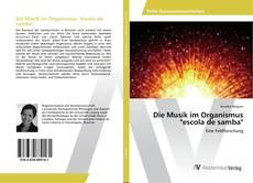 """Die Musik im Organismus """"escola de samba"""" kitap kapağı"""