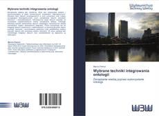 Bookcover of Wybrane techniki integrowania ontologii
