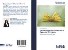 Bookcover of Teoria obligacji w Sofizmatach Ryszarda Kilvingtona