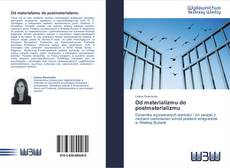 Bookcover of Od materializmu do postmaterializmu
