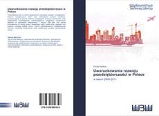 Bookcover of Uwarunkowania rozwoju przedsiębiorczości w Polsce