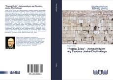 """Bookcover of """"Poznaj Żyda"""" - Antysemityzm wg Teodora Jeske-Choińskiego"""