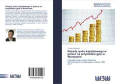 Bookcover of Rozwój rynku kapitałowego w polsce na przykładzie gpw w Warszawie